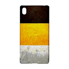 Wooden Board Yellow White Black Sony Xperia Z3+ by Mariart