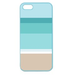 Dachis Beach Line Blue Water Apple Seamless Iphone 5 Case (color) by Mariart
