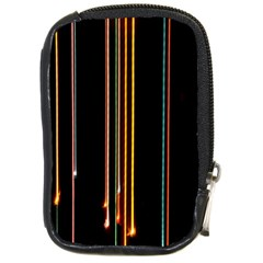 Fallen Christmas Lights And Light Trails Compact Camera Cases by Mariart