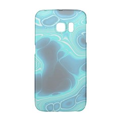 Blue Patterned Aurora Space Galaxy S6 Edge by Mariart