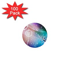 Christmas 1  Mini Magnets (100 Pack)  by Mariart
