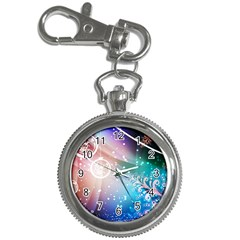 Christmas Key Chain Watches by Mariart