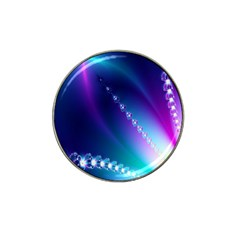 Flow Blue Pink High Definition Hat Clip Ball Marker (4 Pack) by Mariart
