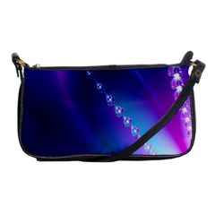 Flow Blue Pink High Definition Shoulder Clutch Bags by Mariart