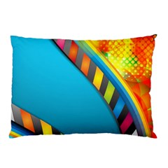 Color Dream Polka Pillow Case by Mariart