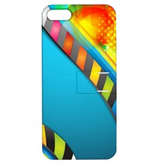 Color Dream Polka Apple Iphone 5 Hardshell Case With Stand by Mariart