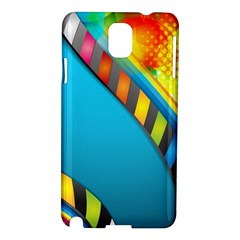 Color Dream Polka Samsung Galaxy Note 3 N9005 Hardshell Case by Mariart