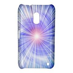 Creation Light Blue White Neon Sun Nokia Lumia 620 by Mariart