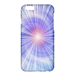 Creation Light Blue White Neon Sun Apple Iphone 6 Plus/6s Plus Hardshell Case by Mariart