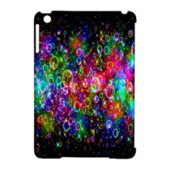 Colorful Bubble Shining Soap Rainbow Apple Ipad Mini Hardshell Case (compatible With Smart Cover) by Mariart