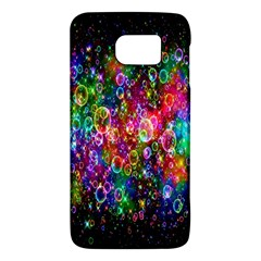 Colorful Bubble Shining Soap Rainbow Galaxy S6 by Mariart