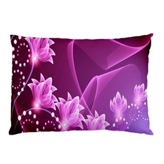 Lotus Sunflower Sakura Flower Floral Pink Purple Polka Leaf Polkadot Waves Wave Chevron Pillow Case by Mariart