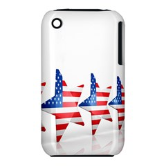 Multiple Us Flag Stars Line Slide Iphone 3s/3gs by Mariart