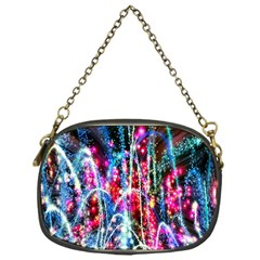 Fireworks Rainbow Chain Purses (one Side)  by Mariart