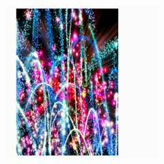 Fireworks Rainbow Small Garden Flag (two Sides) by Mariart