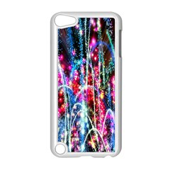 Fireworks Rainbow Apple Ipod Touch 5 Case (white) by Mariart