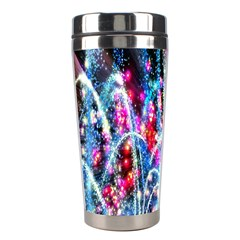 Fireworks Rainbow Stainless Steel Travel Tumblers by Mariart