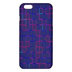 Grid Lines Square Pink Cyan Purple Blue Squares Lines Plaid Iphone 6 Plus/6s Plus Tpu Case by Mariart