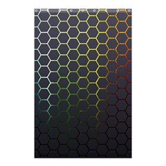 Hexagons Honeycomb Shower Curtain 48  X 72  (small)  by Mariart