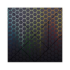 Hexagons Honeycomb Acrylic Tangram Puzzle (6  X 6 ) by Mariart