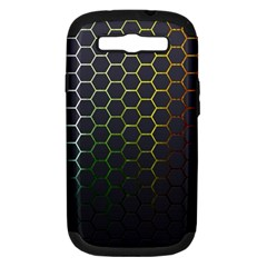 Hexagons Honeycomb Samsung Galaxy S Iii Hardshell Case (pc+silicone) by Mariart