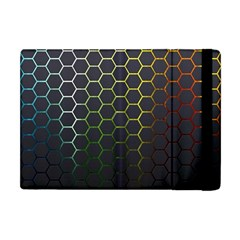 Hexagons Honeycomb Apple Ipad Mini Flip Case by Mariart
