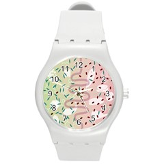 Gut Story Round Plastic Sport Watch (m) by Mariart