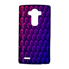 Hexagon Widescreen Purple Pink Lg G4 Hardshell Case by Mariart