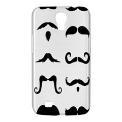 Mustache Man Black Hair Style Samsung Galaxy Mega 6 3  I9200 Hardshell Case by Mariart