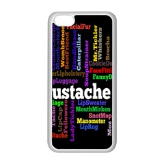 Mustache Apple Iphone 5c Seamless Case (white) by Mariart