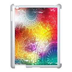 Multi Colour Alpha Apple Ipad 3/4 Case (white) by Mariart