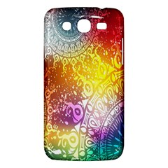 Multi Colour Alpha Samsung Galaxy Mega 5 8 I9152 Hardshell Case  by Mariart