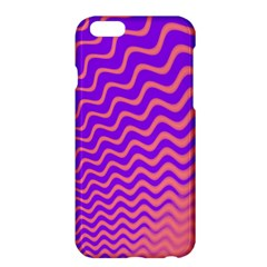 Original Resolution Wave Waves Chevron Pink Purple Apple Iphone 6 Plus/6s Plus Hardshell Case by Mariart
