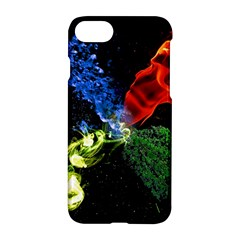 Perfect Amoled Screens Fire Water Leaf Sun Apple Iphone 7 Hardshell Case by Mariart