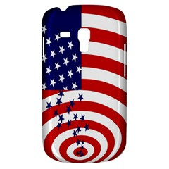 Star Line Hole Red Blue Galaxy S3 Mini by Mariart