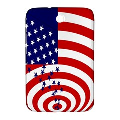 Star Line Hole Red Blue Samsung Galaxy Note 8 0 N5100 Hardshell Case  by Mariart