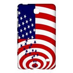 Star Line Hole Red Blue Samsung Galaxy Tab 4 (8 ) Hardshell Case  by Mariart