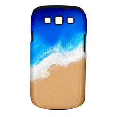 Sand Beach Water Sea Blue Brown Waves Wave Samsung Galaxy S Iii Classic Hardshell Case (pc+silicone) by Mariart