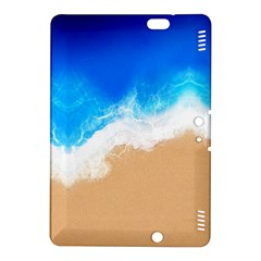 Sand Beach Water Sea Blue Brown Waves Wave Kindle Fire HDX 8.9  Hardshell Case