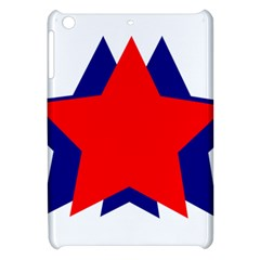 Stars Red Blue Apple Ipad Mini Hardshell Case by Mariart