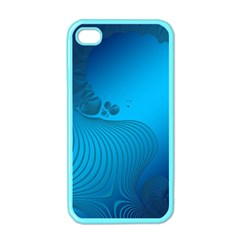 Fractals Lines Wave Pattern Apple Iphone 4 Case (color) by Nexatart