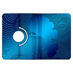 Fractals Lines Wave Pattern Kindle Fire Hdx Flip 360 Case by Nexatart
