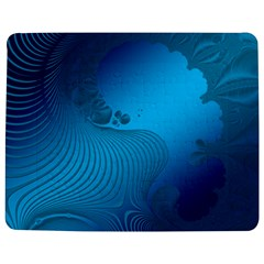 Fractals Lines Wave Pattern Jigsaw Puzzle Photo Stand (rectangular)