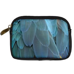 Feather Plumage Blue Parrot Digital Camera Cases by Nexatart