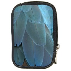 Feather Plumage Blue Parrot Compact Camera Cases