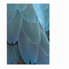 Feather Plumage Blue Parrot Large Garden Flag (two Sides) by Nexatart