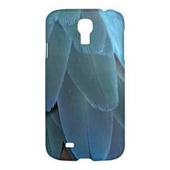 Feather Plumage Blue Parrot Samsung Galaxy S4 I9500/i9505 Hardshell Case