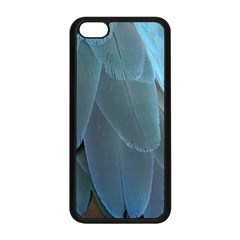 Feather Plumage Blue Parrot Apple Iphone 5c Seamless Case (black) by Nexatart