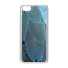 Feather Plumage Blue Parrot Apple Iphone 5c Seamless Case (white)