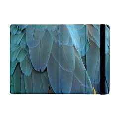 Feather Plumage Blue Parrot Ipad Mini 2 Flip Cases